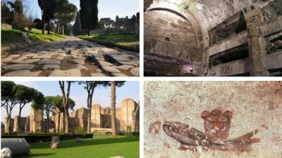 appian way and its treasures