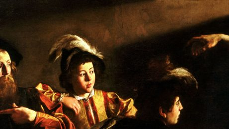 on the footsteps of caravaggio