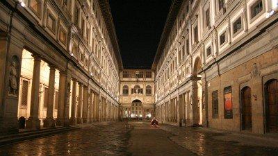 Uffizi night tour