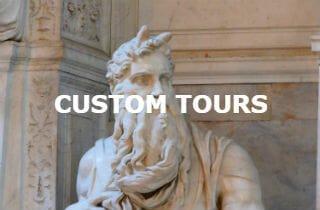 Custom tours of Rome