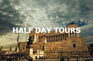Half-day tours of Rome