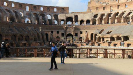 Colosseum arena floor entrance